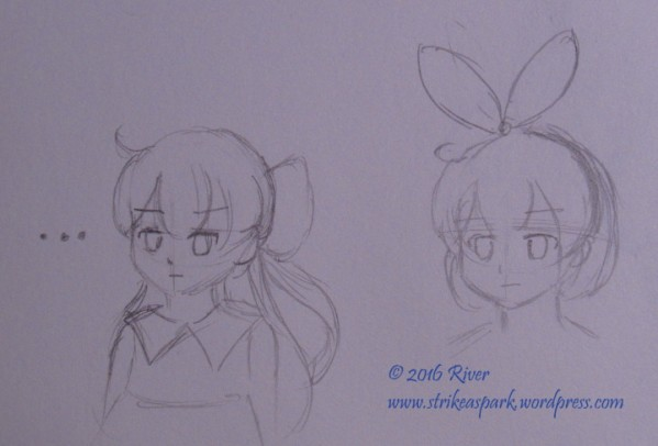 Character Design Sketch 1 for CQ&C