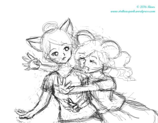 Hug watermark ver