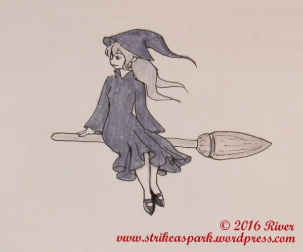 witch-inktober