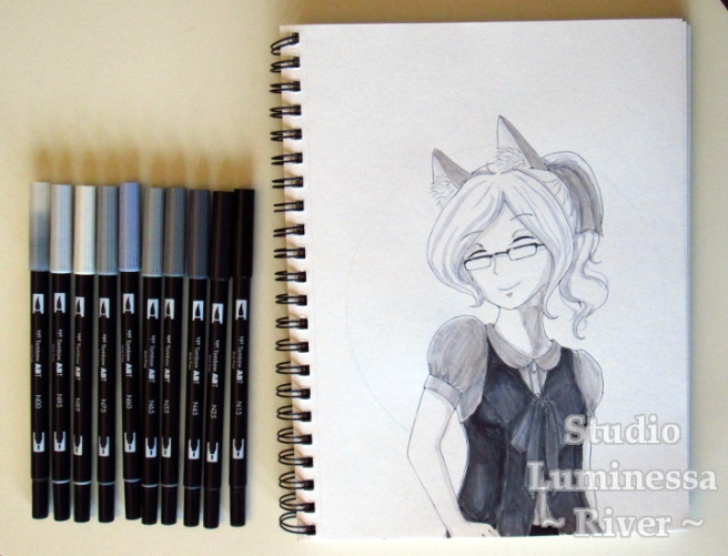 Tombow Marker Review Painting + Markers Photo Watermarked