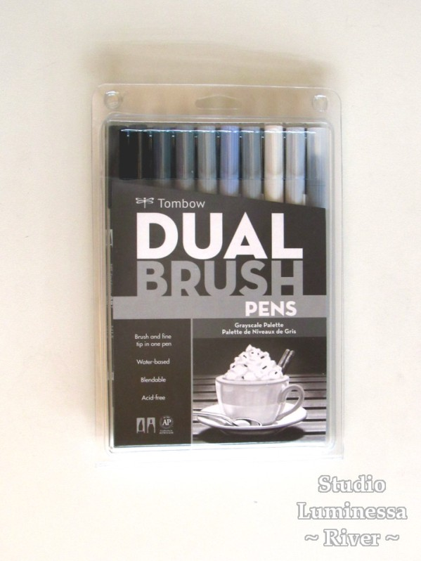 Tombow Dual- Brush Pens Box