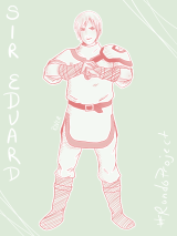 #DEJ3 Day 2: The Knight featuring Sir Eduard from Rondo of the Rising Sun.