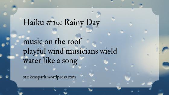 Rainy Day: A Haiku by River