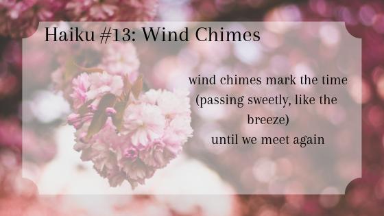 Wind Chimes (Haiku #13) by River