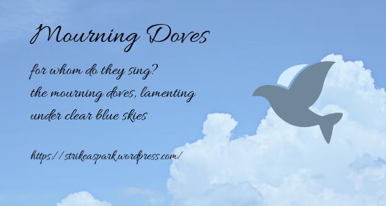 Mourning Doves (Haiku #21)